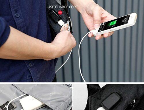 Waarom voor een rugzak met USB-aansluiting kiezen?